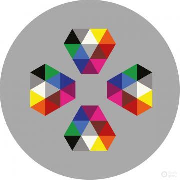 Kryształ4 340x340 cm