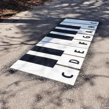 Klawiatura Pianino